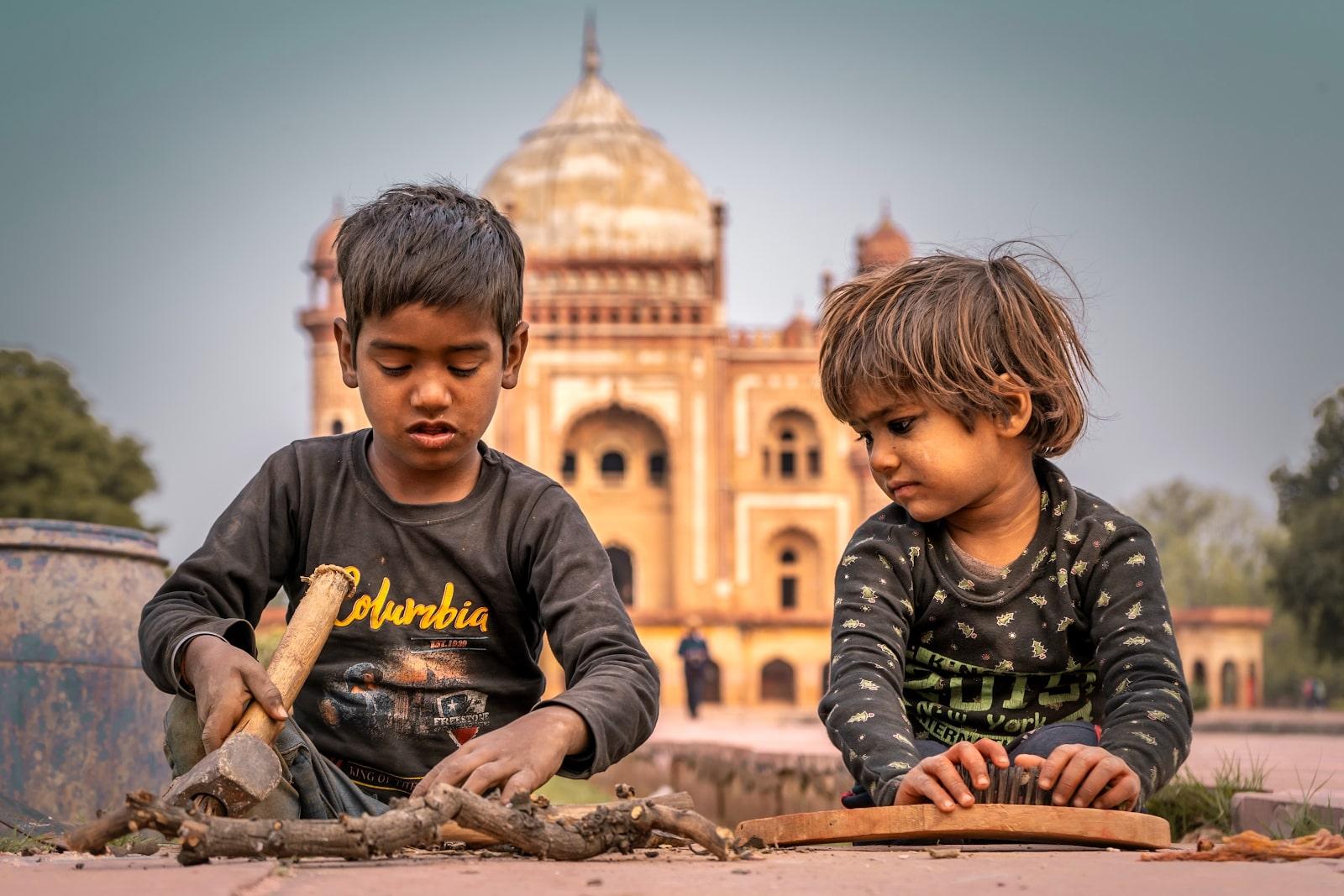 Poverty in India — A Representative Image