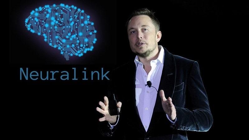 Elon Musk introducing Neuralink