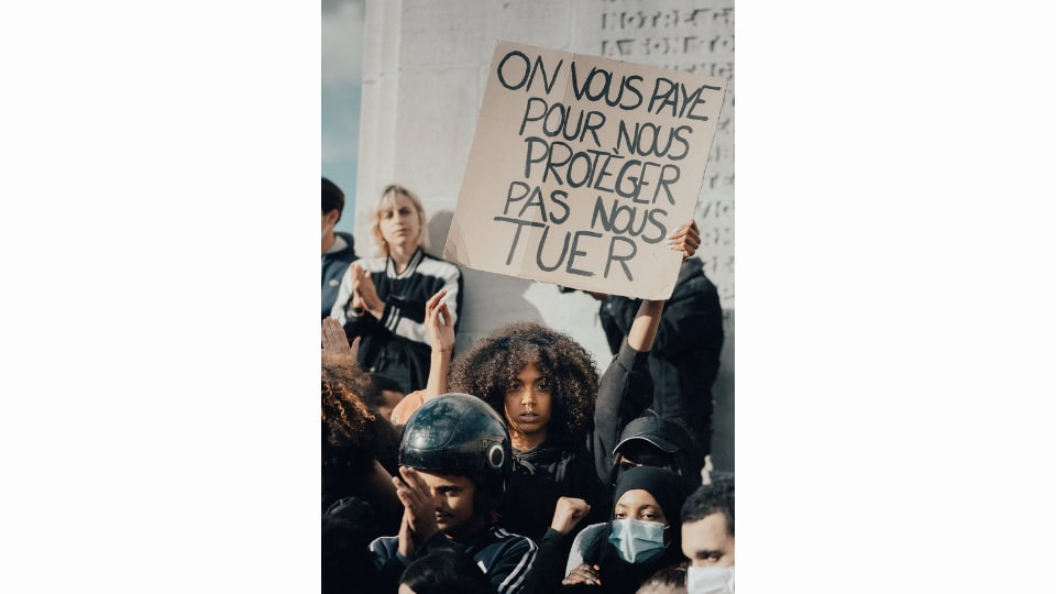 BLM Protest in France
