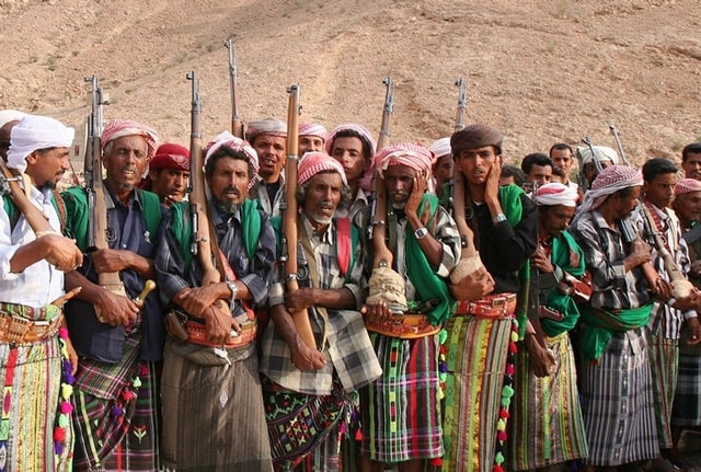 The tribals of South Yemen