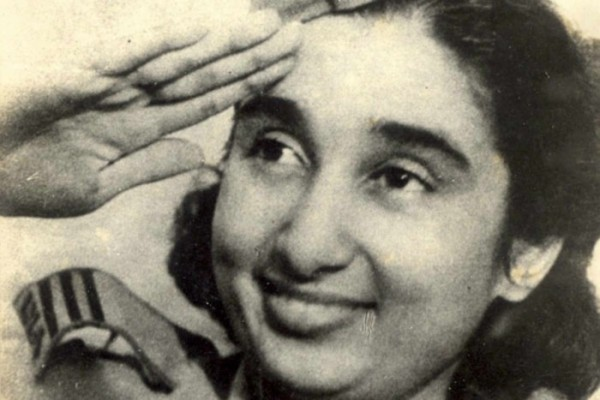 Captain Lakshmi Sahgal in INA Uniform