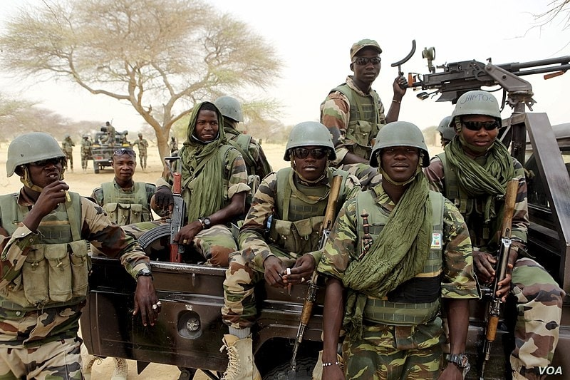 Niger's special forces prepare to fight Boko Haram in Diffa, March 26, 2015