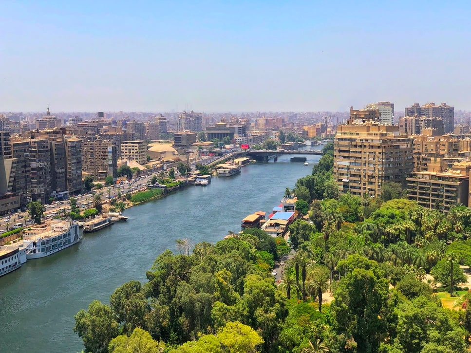 Nile River View Cairo, Egypt