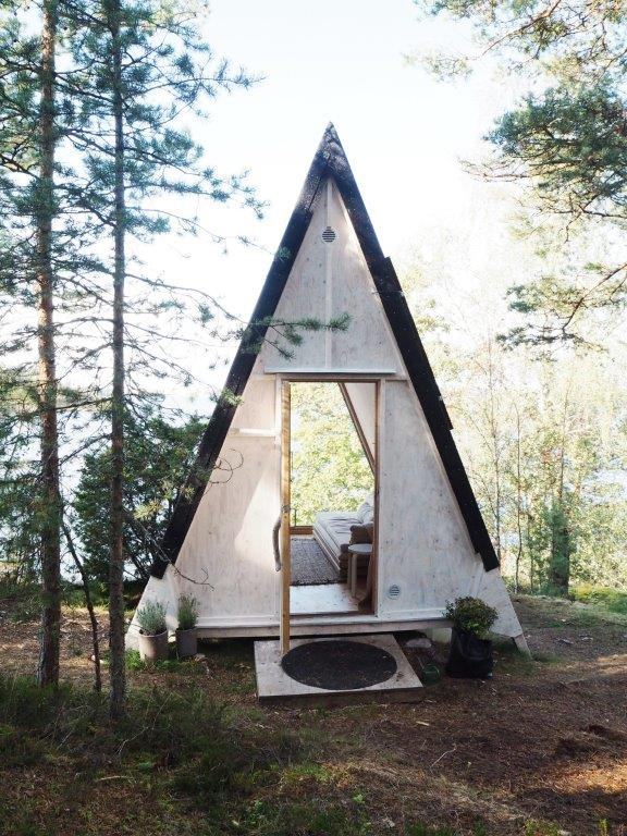 The Nolla Cabin in Helsinki