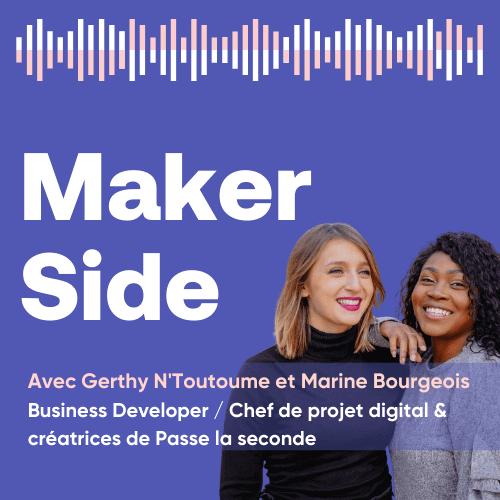Gerthy N'Toutoume et Marine Bourgeois