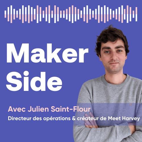 Julien Saint-Flour, directeur des opérations & créateur de Meet Harvey