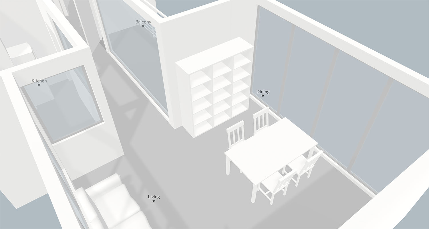 Furniture placement with Smplrspace
