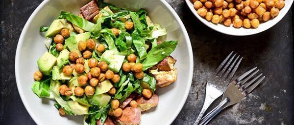 Salad đậu gà