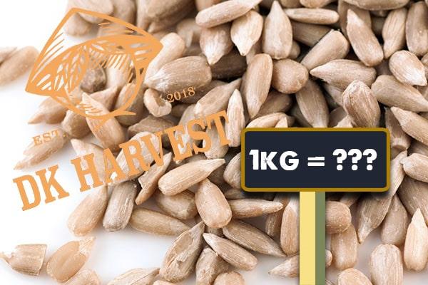 Hạt hướng dương bao nhiêu tiền 1kg?