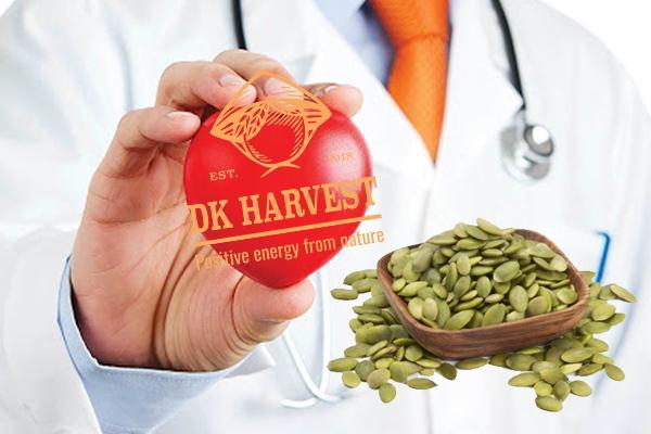 Hạt bí ngô chứa magiê có tác dụng tốt cho tim mạch