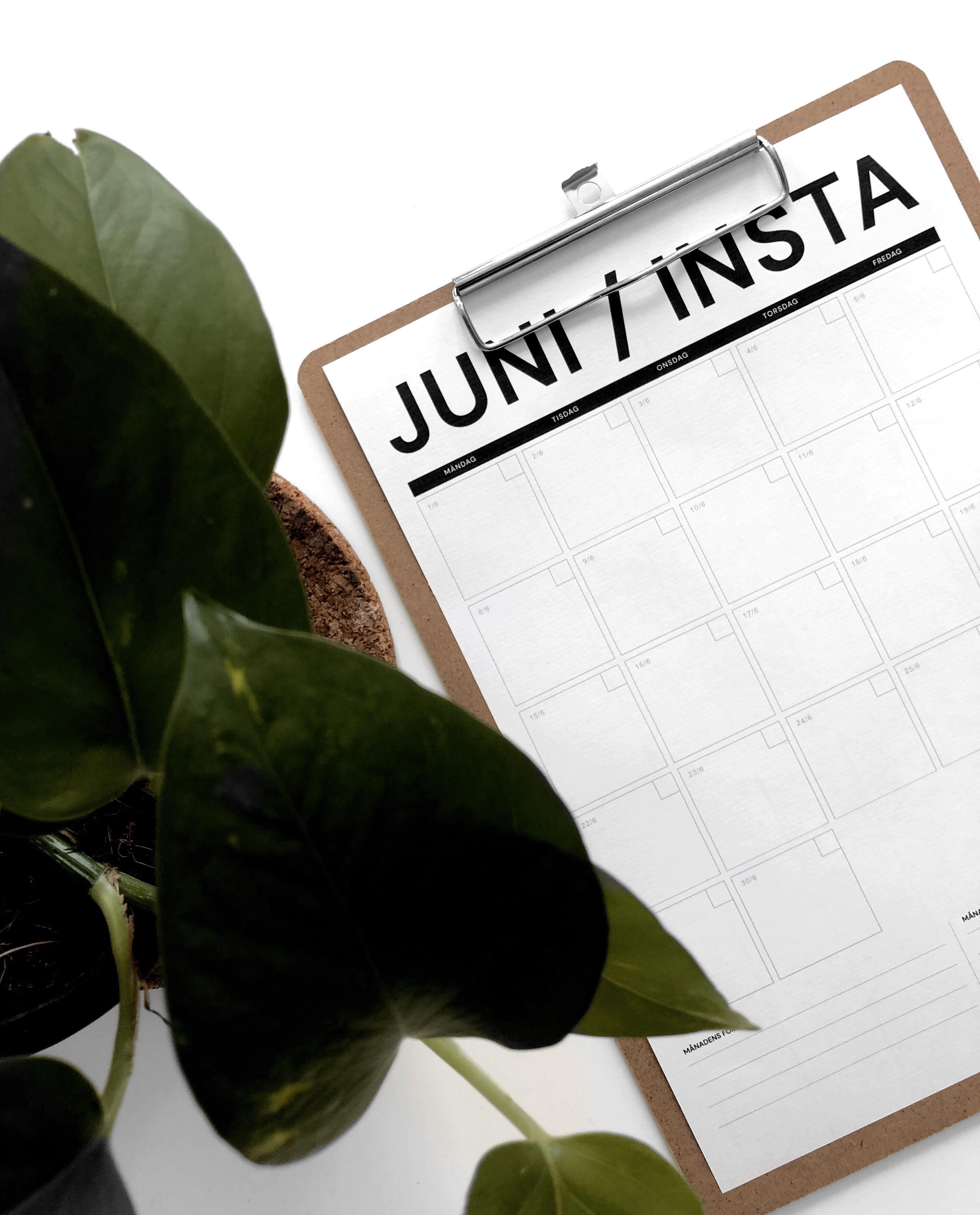 Instagram-tips & gratis planeringsmall