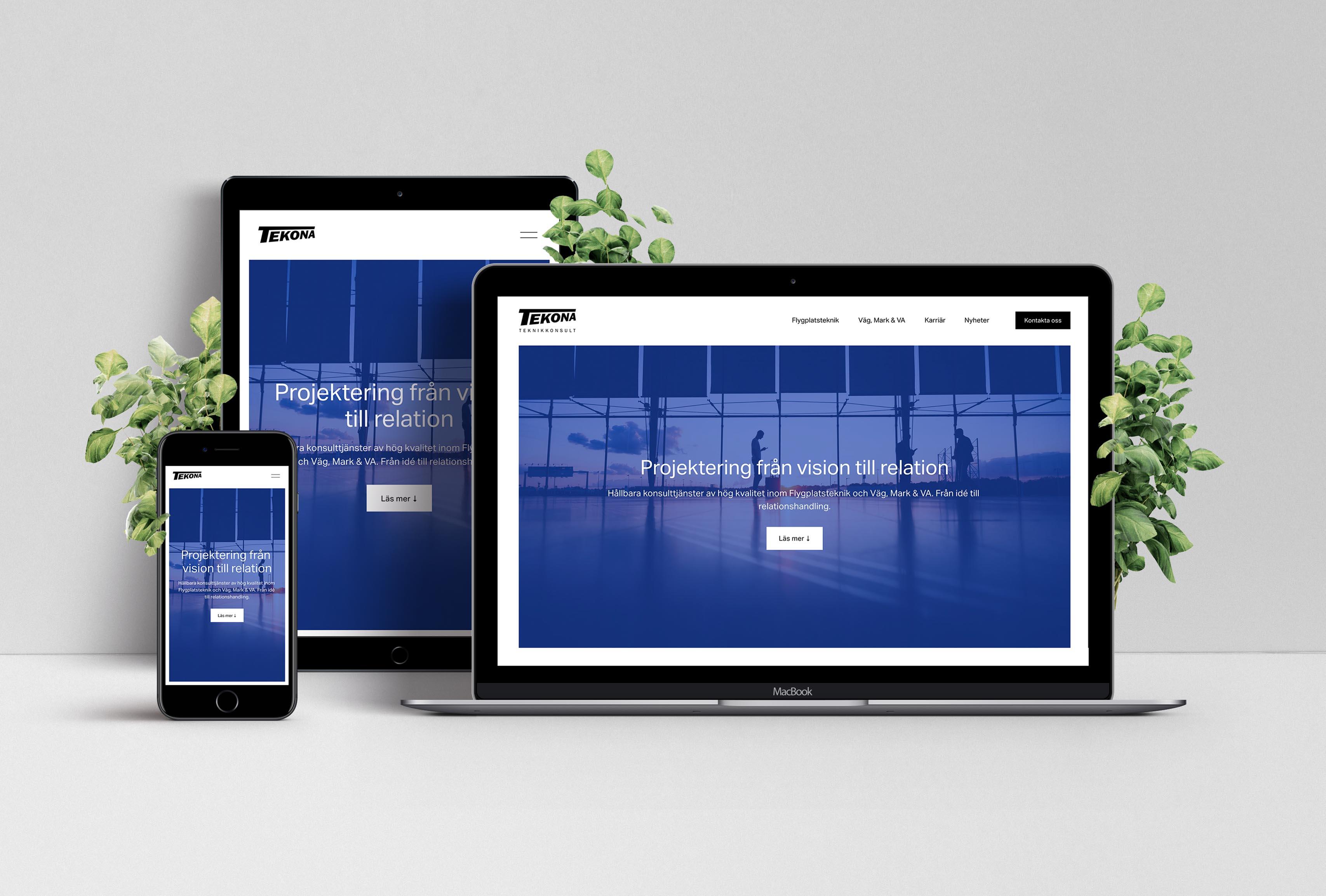 Företagshemsida ~ Tekona.se