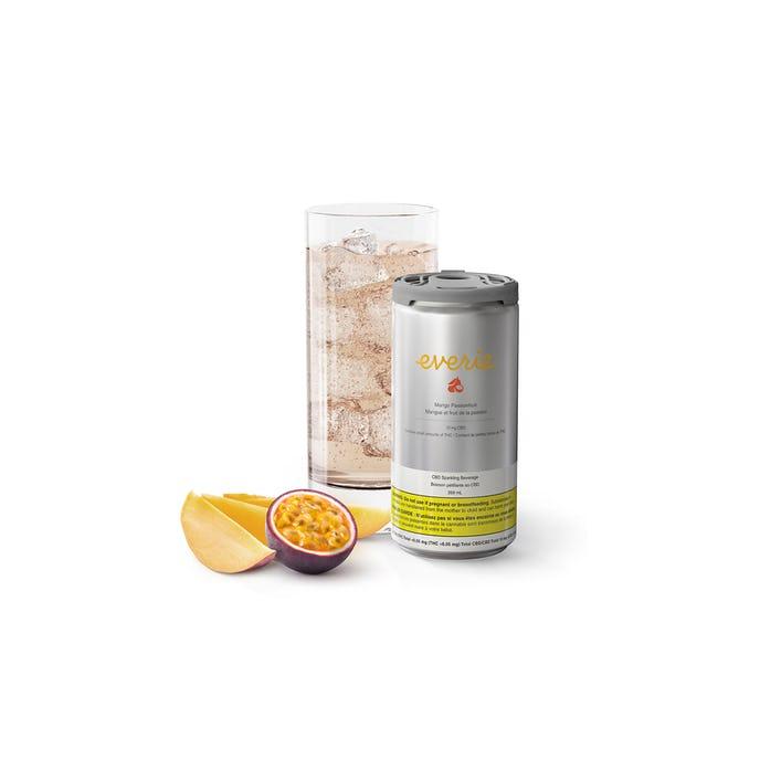 Everie Mango Passionfruit Sparkling Beverage