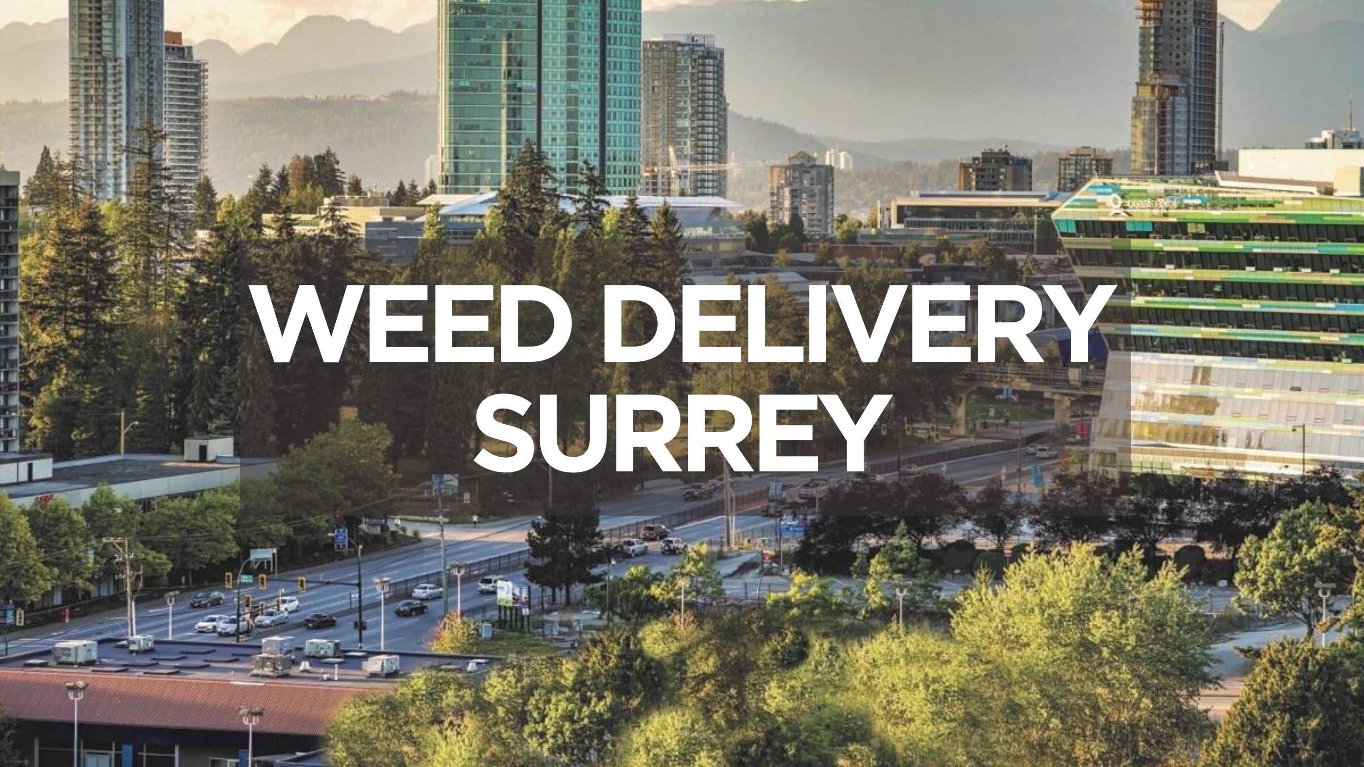 Weed Delivery Surrey