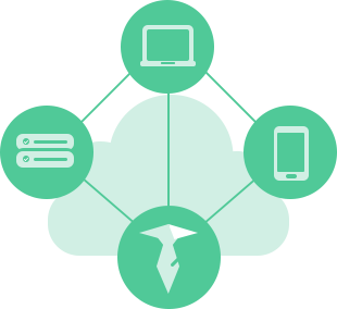 green icon of editing DNS