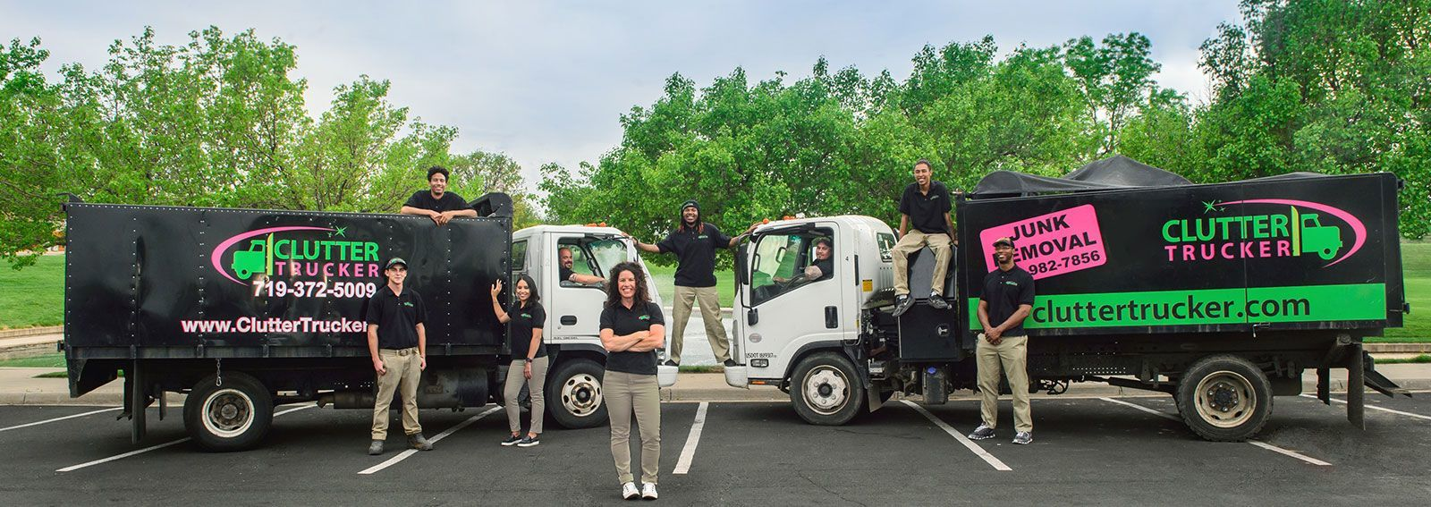 Clutter Trucker Hoarding Cleanup