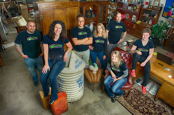 Clutter Trucker and Jennifer are helping people with hoarding disorder