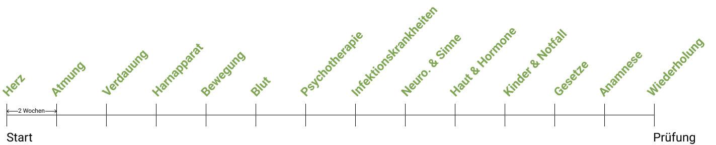 Mit Struktur alle prüfungsrelevanten Themen für die Prüfung zum Heilpraktiker für Psychotherapie