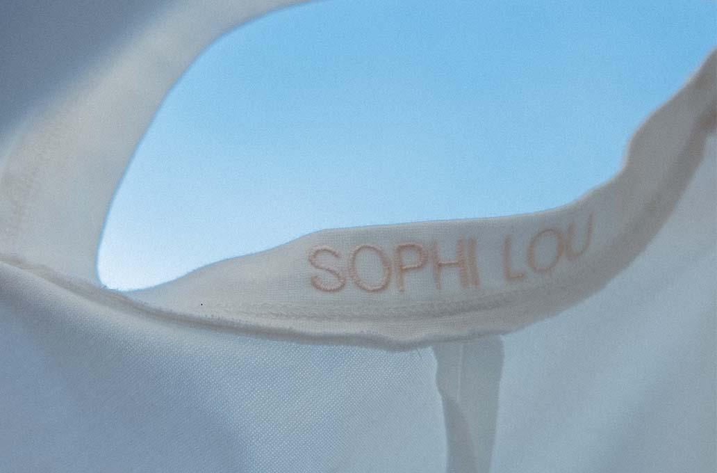 Sophi Lou inside tshirt