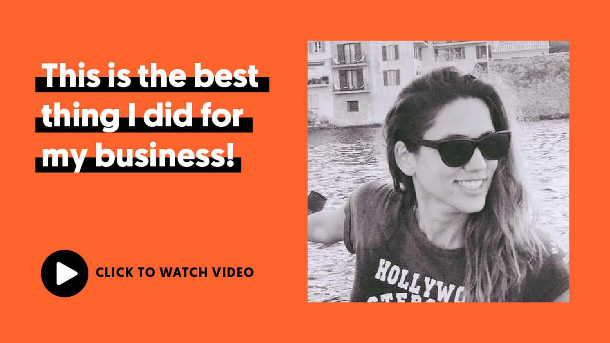 Camila's testimonial video