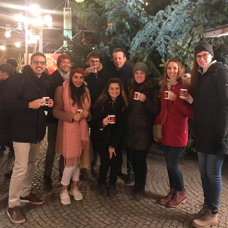 Ciara team Christmas market visit