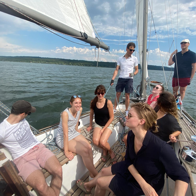 Ciara team sailing trip