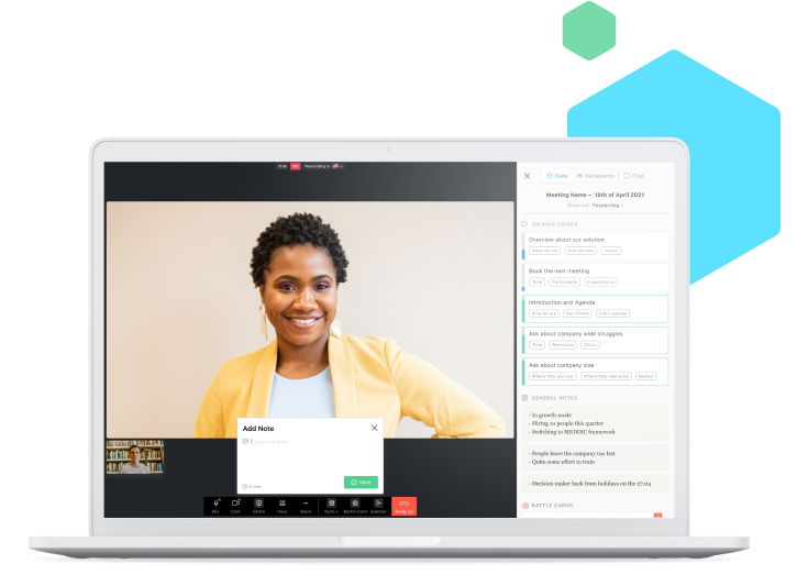 Ciara - The first meeting platform for inside sales