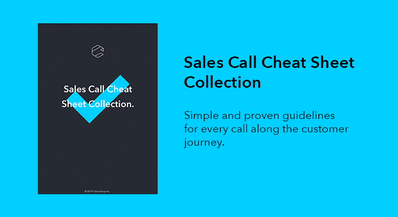 Sales Call Cheat Sheet Collection