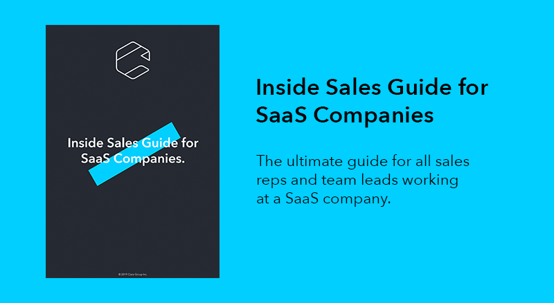 Inside Sales Guide for SaaS Companies