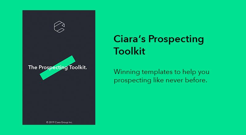 Ciara's Prospecting Toolkit
