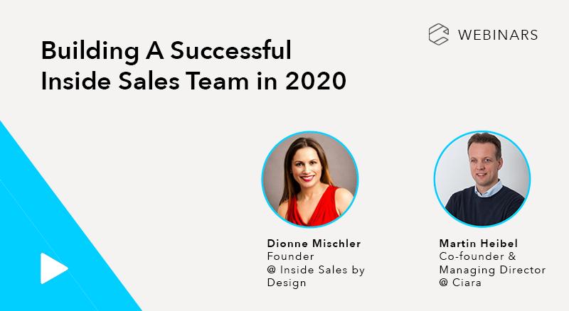 Building A Successful Inside Sales Team