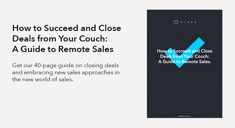 How to Succeed and Close Deals from Your Couch: A Guide to Remote Sales