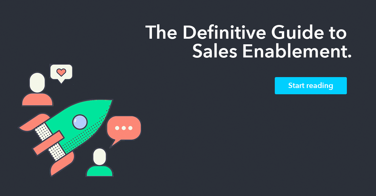 Ciara - The Definitive Guide to Sales Enablement.