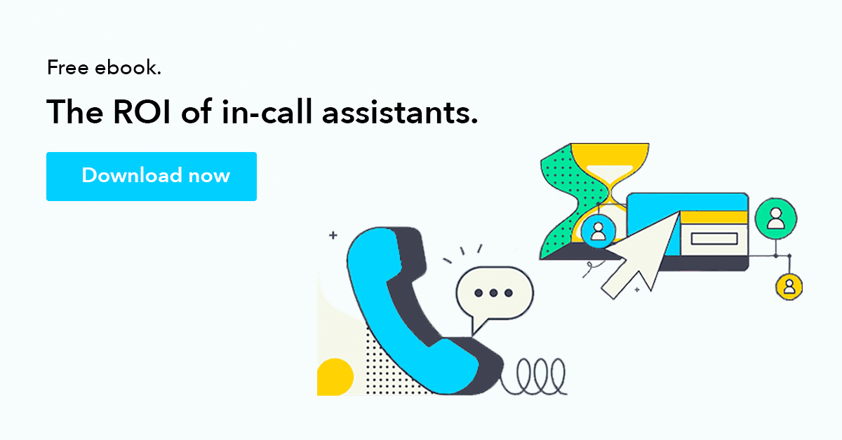 Ciara - The ROI of In-Call Assistants.