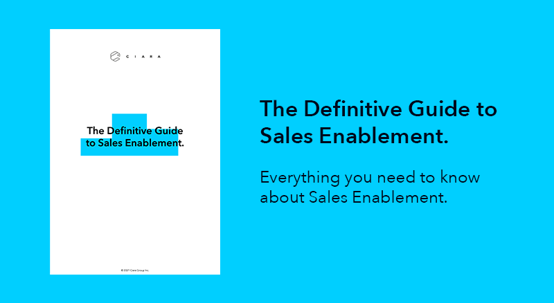 The Definitive Guide to Sales Enablement