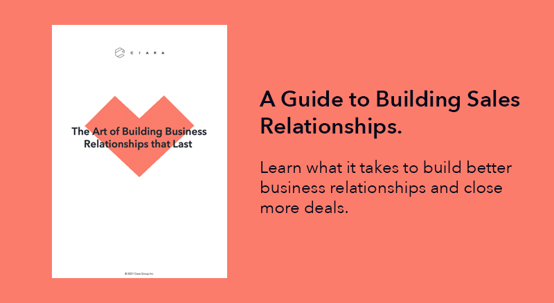 The Art of Building Business Relationships that Last