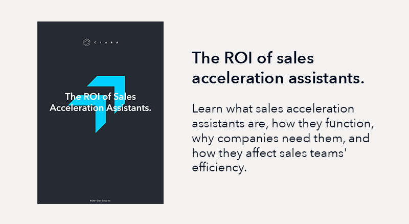 The ROI of Sales Acceleration Assistants