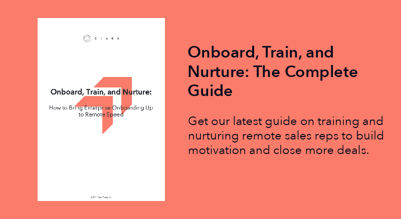 The Guide to Onboard, Train, and Nurture Remote Sales Hires [Free Download]