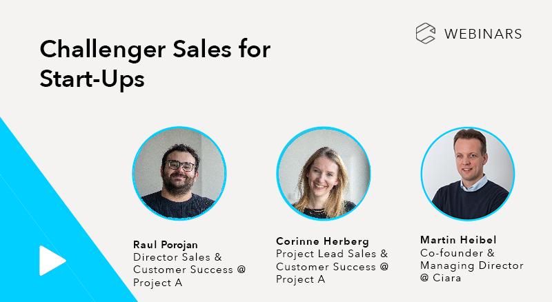 Challenger Sales for Start-Ups