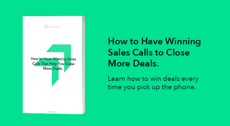 How to Have Winning Sales Calls to Close More Deals