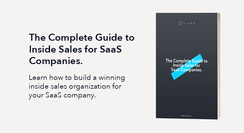 The Complete Guide to Inside Sales for SaaS Companies