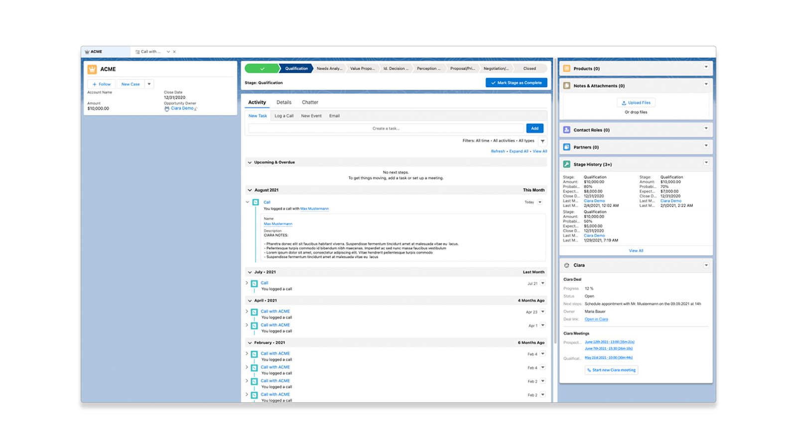 Take notes that instantly sync to Salesforce and stop your CRM suffering.
