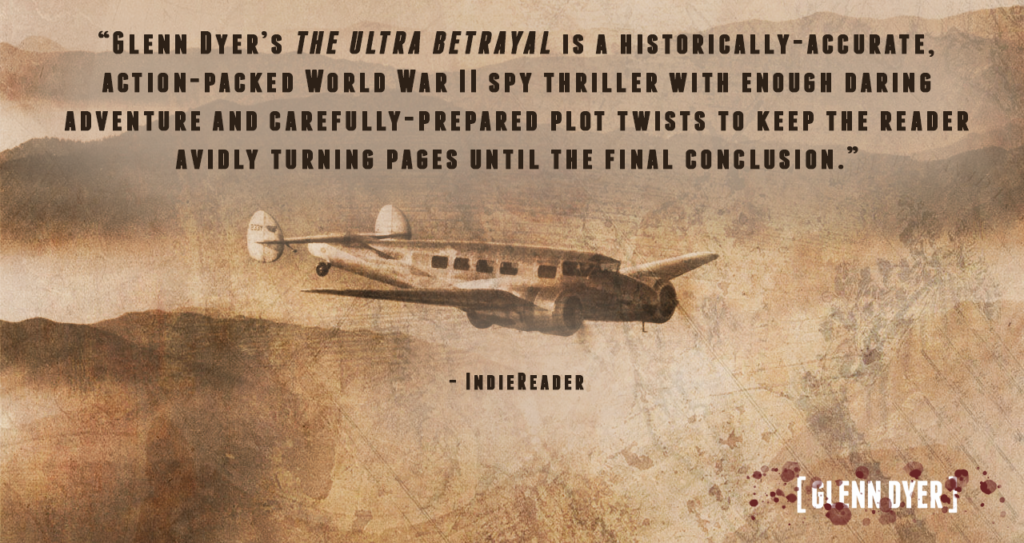 IndieReader The Ultra Betrayal Review