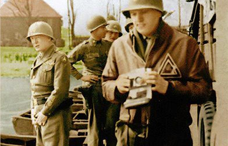 Patton at the Rhine