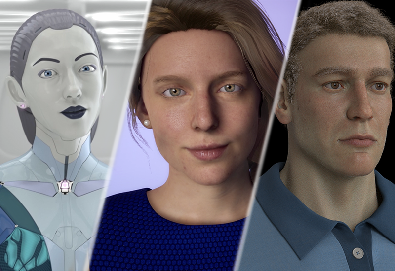 Digital human with customisable look and behaviour