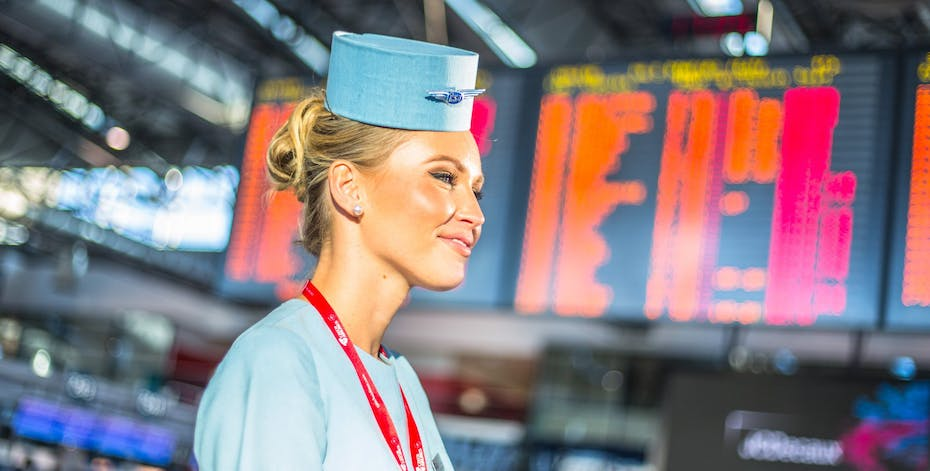 Czech Airlines Flight Attendant