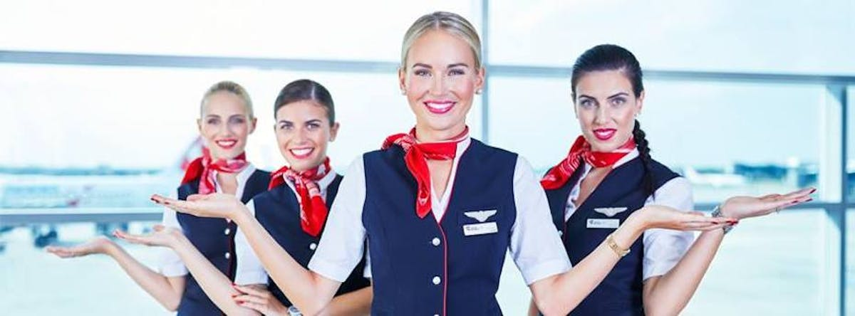 Czech Airlines Flight Attendants