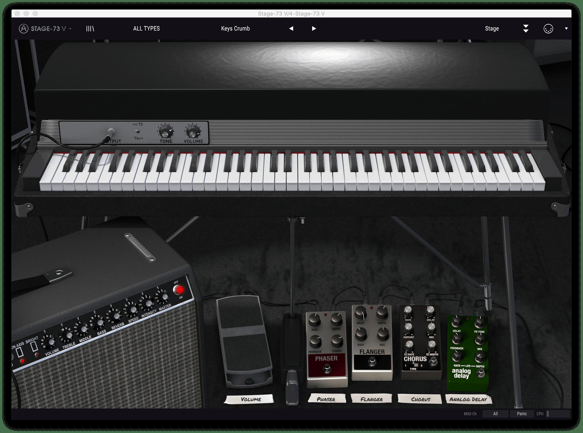 piano crumb keys