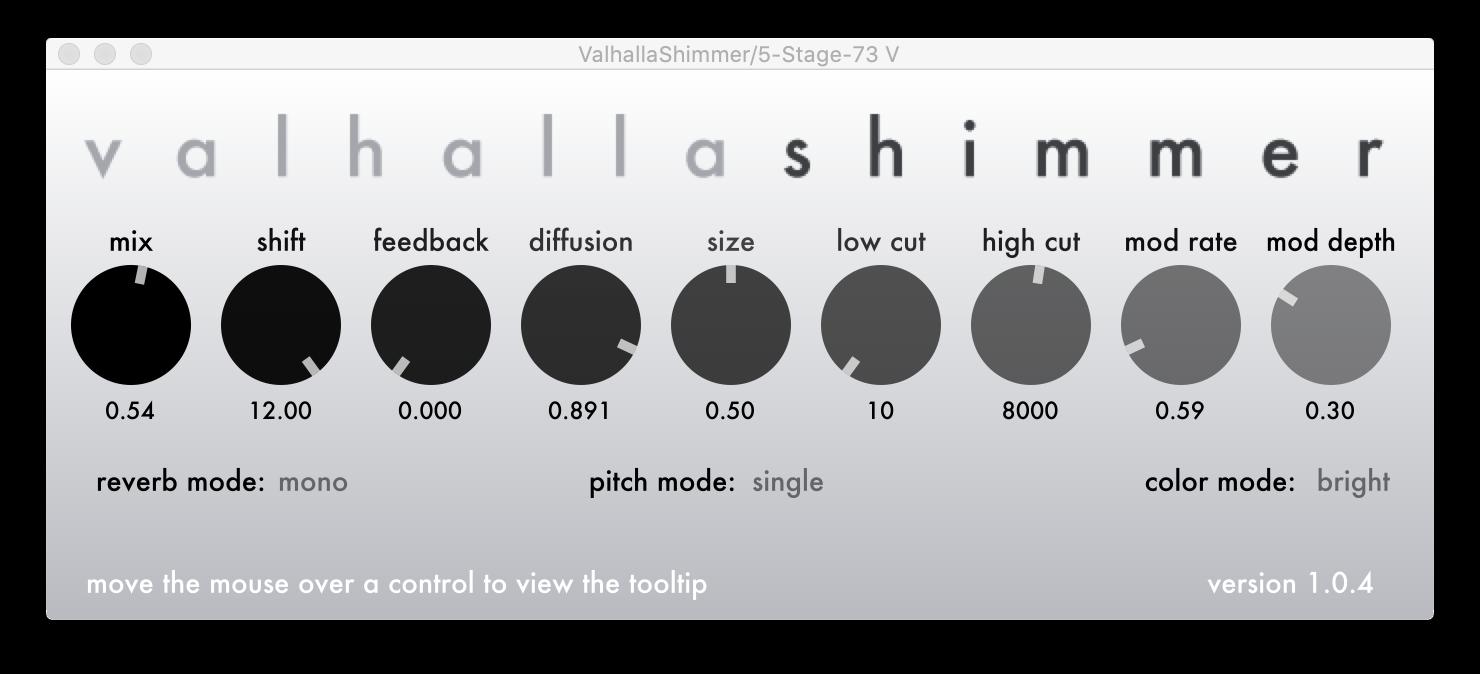 Valhalla shimmer