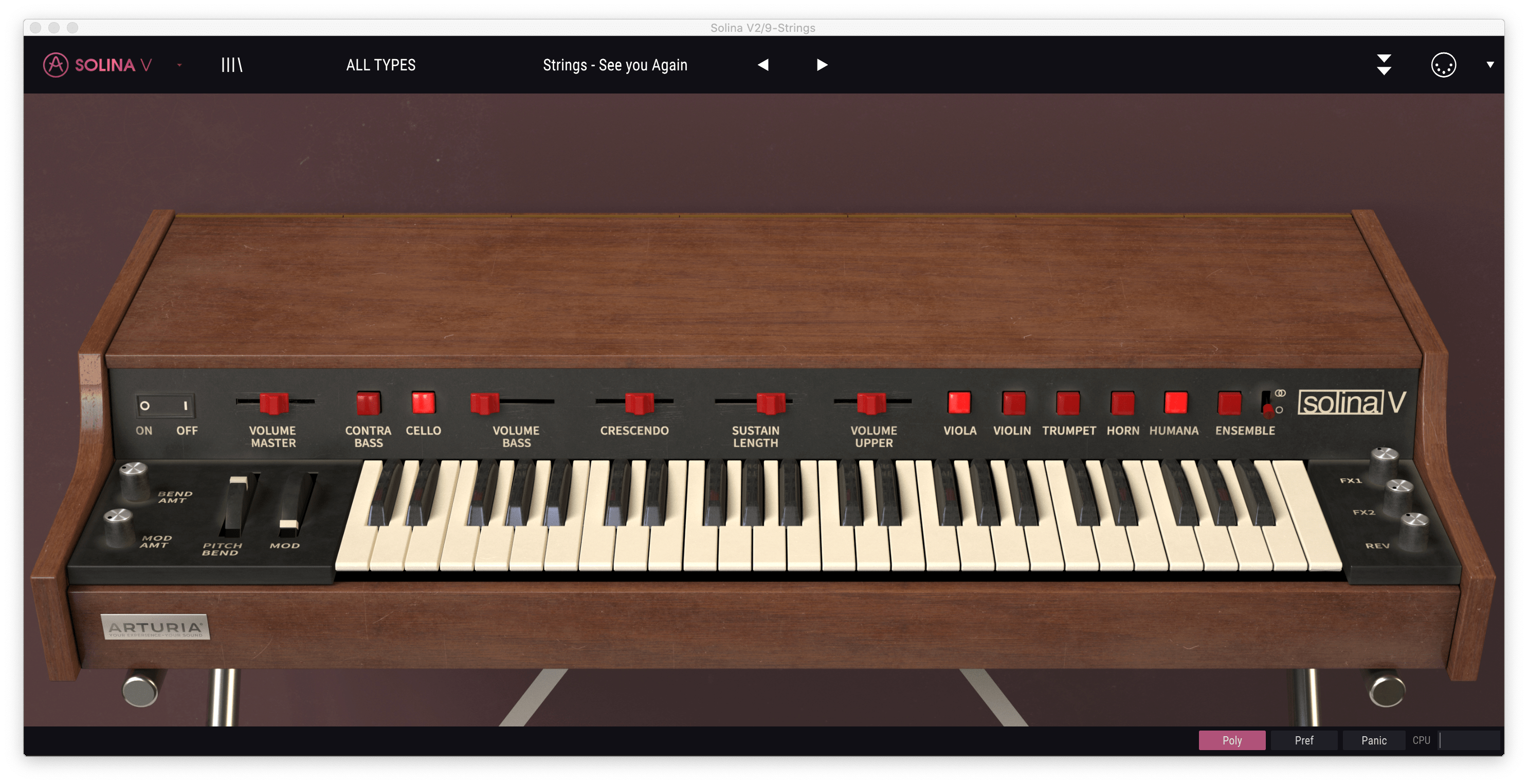 solina synth strings